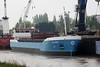 SUSANNE (Spijk) - IMO9279006 - Cargo - NLD/3200/04 Scheeps Peters, Kampen, No.1001 - 82.5 x 12.5 - Dam Scheeps - Port Sutton Bridge, unloading steel, 18/04/11.