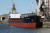 SEA MITHRIL (Hull) - IMO9006435 - Cargo - GBR/2220/92 Yorkshire Drydock Co., Hull, No.326 - 77.8 x 11.1 - Torbulk Shipping, Grimsby - Kings Lynn, loading grain in Bentinck Dock, 11/05/2010.