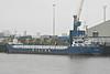 WILSON ALGECIRAS (Valletta) - IMO9507350 - Cargo - MLT/3600/10 Slovenske Lodenice, Komarno, No.2119 - 88.3 x 12.8 - Wilson Shipping, Bergen - Kings Lynn, unloading fertiliser from Klaipeda, 26/02/13.