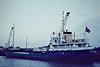 ULLA DORTE (Aarosund) - IMO5141304 - Cargo - DMK/714/57 Husumer Schiffs, No.1098 - 52.7 x 8.7 - Ole Rasch Petersen - 2002 broken up - Wisbech, unloading fertiliser, 01/82.