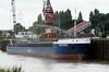 RMS BAERL (St Johns) - IMO9194311 - Cargo - ATG/2879/99 Scheeps Gebr. Schloemer, Oldersum, No.604 - 99.9 x 11.5 - Rhein Maas & See Schiffs - Port Sutton Bridge, loading grain, 10/08/10