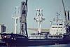 TRANS-TARRACO (Gijon) - IMO7387079 - Cargo - ESP/2684/75 Astilleros Duro Felguera, Gijon, No.120 - 81.3 x 13.4 - 07/09/86 sank off Pulau Kanmunbesar, Indonesia - Boston, unloading steel, 08/82.
