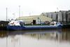 ZEELAND (Goes) - IMO9411771 - Cargo - NLD/3245/10 Scheeps Bijlsma, Lemmer, No.766 - 89.0 x 11.8 - Wagenborg BV - Kings Lynn, loading grain on Alexandra Quay, 30/03/10.