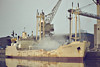 WILLIAM J EVERARD (London) - IMO5414385 - Cargo - GBR/2450/63 Goole Shipbuilders, No.536 - 81.0 x 12.0 - FT Everard & Co. - 2002 broken up - Kings Lynn, loading grain in Bentinck Dock, 03/81.
