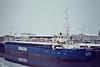 SEA TRENT (Haren Ems) - IMO8401547 - Cargo - DEU/1555/84 Schiffs Hermann suurken, Papenburg, No.324 - 74.9 x 10.6 - Freight Express Seacon - still trading as MARCO OLIVEIRA (PRT) - Wisbech, to load grain, 02/85.
