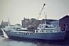 ULLA BALLING (Jersey) - IMO5172585 - Cargo - GBR/515/61 Svendborg Skibs, No.99 - 42.7 x 8.3 - John Parsons Shipping - Fosdyke, unloading fertiliser, 04/82 - still trading as ALEXA A II (VCT).