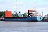 WILSON BILBAO (Valletta) - IMO9014705 - Cargo - MLT/3735/92 Slovenske Lodenice, Komarno, No.2905 - 87.9 x 12.8 - Wilson Shipping, Bergen - Kings Lynn, unloading fertiliser on Alexandra Quay, 17/06/10.