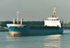 SELENE PRAHM (Leer) - IMO9100059 - DEU/2422/94 Schiffs Kotter, Haren Ems, No.88 - 75.1 x 11.7 - Hammann & Prahm Reederei - Kings Lynn, inward bound to load grain, 19/12/07.
