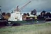 SKARPOE (Limassol) - IMO9325142 - Cargo - CYP/4508/05 Scheeps Bodewes, Hoogezand, No.634 - 8.9 x 15.2 - Hermann Buss KG - Port Sutton Bridge, discharging peat, 18/08/08.