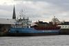WILSON GRIP (Valletta) - IMO9126912 - Cargo - MLT/3680/96 Slovenske Lodenice, Komarno, No.2928 - 87.9 x 12.9 - Wilson Shipping, Bergen - Kings Lynn, to load grain in Bentinck Dock, 27/11/08.
