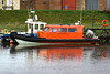 TIGA - A new pilot trialled at Sutton Bridge, 25/11/08. I can only assume that the trials were not a success as it did not become the new pilot boat.