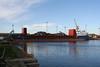 UFA (Valletta) - IMO9143611 - Cargo - MLT/4337/97 Krasnoye Sormovo Shipyard, Nizhniy Novgorod, No.17310/4 - 96.3 x 13.6 - Volga Shipping, Nizhniy Novgorod - Kings Lynn, loading scrap, 05/11/09.