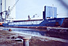STADT HEMMOOR (St Johns) - IMO9313632 - Cargo - ATG/2950/05 Slovenske Lodenice, Komarno, No.2101 - 88.6 x 12.4 - Bojen Schiffs - still trading - Kings Lynn, unloading rapeseed in Bentinck Dock, 14/10/08.