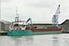 SYLVE (Limassol) - IMO8906286 - Cargo - CYP/3030/90 Scheeps Ferus Smit, Westerbroek, No.266 - 82.0 x 12.5 - Craftchart OU, Tallinn - Kings Lynn, loading grain for Rostock in Alexandra Dock, 28/07/14.