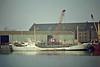 TRAUTE (Hamburg) - IMO5367685 - Cargo - DEU/480/55 Jadewerft, Wilhelmshaven, No.37 - 47.6 x 8.5 - Erich Umland - still trading as BJORN M (DEU) - Boston, unloading steel, 04/82.