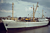 WOTAN (Hamburg) - IMO6702284 - Cargo - DEU/1036/66 JJ Soetas Schiffswerft, Hamburg, No.582 - Type 28 - 61.9 x 10.0 - Fritz Pott & Klaus Blohm - still trading as HEIN (DEU) - Wisbech, unloading timber for Jewsons, 05/83.