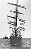 1893 to 1927 - KILMALLIE - 3-masted Barque - 1634GRT - 74.9 x 11.5 - 1893 Russell & Co., Greenock, No.331 - built for Kerr, Newton & Co., Glasgow - 1908 sold to J Stewart & Co.. Glasgow, as seen here.