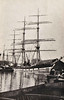 1889 to 1935 - GRACE HARWAR - 3 masted ship - 1807GRT - 81.3 x 11.9 - 1889 W Hamilton & Co., Glen Yard, No.69 - 1913 sold to Russia, 1916 sold to Gustaf Erikson - 03/35 broken up - seen here in 1910 when still owned by Montgomery & Co., London.
