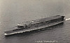 1917 to 1948 - FURIOUS (47) - Courageous Class Light Battlecruiser - 22920 tons - 239.8 x 24.7 - 1917 Armstrong Whitworth & Co., Elswick - 4x15in., 18x4in., 2x3in., 2TT - 32 knots - whilst building, forward turret was removed and replaced by 10 plane hangar with a 49 metres flying off deck built above it - 11/17 rear turret removed and replaced by 91 metres landing-on deck with a another hangar beneath - 02/08/17 first ever successful landing on a moving ship - 06/21 to 09/25 converted to full carrier, superstructure and funnel removed - 1939 small island added on starboard side of flight deck - 10/39 Home Fleet, 04/40 Norway, 11/40 Aircraft Delivery Duties, 07/41 Home Fleet, 08/41 Aircraft Delivery Duties, 11/41 refit in USA, 06/42 Home Fleet, 08/42 Operation Pedestal, then Operation Torch, 04/43 Home Fleet, 08/45 to Reserve, 01/48 sold for breaking.