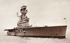 1924 to 1942 - HERMES (95) - Aircraft Carrier - 10850 tons - 182.9 x 21.4 - 1924 Armstrong Whitworth & Co., Walker - 6x5.5in., 4x4in.AA, 20 a/c - 25 knots - first purpose-built aircraft carrier in the world - 02/24 Mediterranean, 08/25 China Station, 05/37 to Reserve at Devomport, 09/39 Western Approaches, 12/40 East Indies Station, 05/40 Atlantic Convoy Escort Duties, 01/41 East Indies Station, 03/42 Eastern Fleet, 09/04/42 sunk south of Ceylon by 40 250lb bombs from Japanese carrier aircraft, 306 dead.