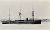 1870 to 1875 - VANGUARD -  Audacious Class Battleship - 6034 tons - 104.3 x 16.0 - 1870 Laird & Son, Birkenhead - 10x9in., 4x6in., 6x20pdr. - 13 knots - 01/09/1875 sunk in collision with IRON DUKE off Kish Lightship, West of Ireland, in heavy fog.