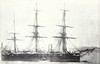 1872 to 1890 - SWIFTSURE - Swiftsure Class Battleship - 7020 tons - 85.0 x 17.0 - 1872 Palmers Shipbuilding Co., Jarrow - 10x9in., 4x6in. - 14 knots - 1872 Dardanelles, Mediterranean, 1882 Pacific, 1890 to Reserve, 1901 stores hulk, renamed ORONTES, 11/08 sold for breaking.