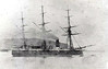 1865 to 1884 - VESTAL - Amazon Class Wooden Screw Steam Sloop - 1574 tons - 57.0 x 11.0 - 1865 Pembroke Dockyard - 2x7in.ML, 2x64pdr.ML (1870's converted to 9x64pdr.ML, 4 on each broadside, 1 centreline in the bow) - 1884 sold for breaking.