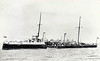 1890 to 1920 - GOSSAMER - Sharpshooter Class Torpedo Gunboat - 735 tons - 74.0 x 8.2 - 1889 HM Dockyard, Sheerness - 2x4.7in., 5TT - 19 knots - 1908 converted to Minesweeper, 03/20 sold for breaking.