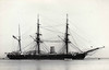 1876 to 1904 - RUBY - Composite Screw Corvette - 2120 tons - 67.1 x 12.2 - 1876 Earle's Shipbuilding, Hull - 12x64pdr. - 12/04 Coal Hulk, renamed C10, -2/21 sold for breaking.