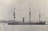 1873 to 1887 - THETIS - Wooden Screw Corvette - 1890 tons - 67.1 x 11.0 - 1873 HM Dockyard, Devonport - 2x7in., 8x6.3in. - 13 knots - 1873 China Station, 1874 East Indies, 1879 Pacific Station, 1883 to Reserve, 1887 sold for breaking.