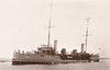 1894 to 1918 - HAZARD - Dryad Class Torpedo Gunboat - 1070 tons - 80.0 x 9.3 - 1894 HM Dockyard, Pembroke Dock - 2x4.7in., 5TT - 18 knots - 1901 Submarine Depot Ship, 02/02/12 rammed and sank submarine A3, 14 submariners killed, 28/01/18 sunk in collision in English Channel with merchant WESTERN AUSTRALIA (2937/01).