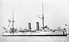 1888 to 1905 - MAGICIENNE - Marathon Class Cruiser - 2950 tons - 80.8 x 12.8 - 1888 Fairfield Shipbuilding & Engineering Co., Clydebank - 6x6in, 9x6pdr, 2TT - 20 knots - 07/05 sold for breaking.