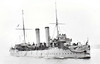 1891 to 1907 - SPARTAN - Apollo Class Protected Cruiser - 3700 tons - 96.0 x 13.3 - 1891 Armstrong Whitworth & Co., Elswick - 2x6in., 6x4.7in., 4TT - 20 knots - 1907 Harbour Duty, 1921 Accomdation Ship, Torpedo School, Devonport, renamed DEFIANCE III, 06/31 sold for breaking - seen here in 10/03.
