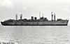 1945 to 1951 - PORTLAND BILL - Fort Type Repair Ship - 7292GRT/11270 DWT - 134.6 x 17.4 - 1945 Burrard Drydock Co., Vancouver, No.236 (Victory Type) - 16x20mm - 11 knots - 1951 sold commericial to Stag Line as ZINNIA, 1964 CHRYSOPOLIS - 05/65 broken up at Kaohsiung - seen here laid up in 1950.