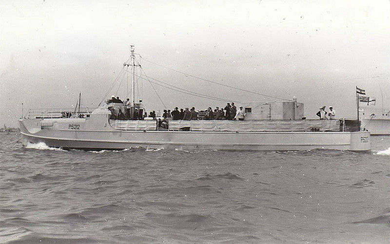 1945 to ???? - P2512 - German S Boat - 120 tons - 34.9 x 5.1 - 1945 Schiffs Luerssen, Vegesack - 2TT, 1x20mm, 1x37mm (as built) - 44 knots - ex Kriegsmarine S212, one of 34 surrendered to RN, retained by RN for trials.