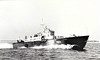 1955 to 1966 - DARK ANTAGONIST (P1103) - Dark Class Fast Attack Craft - 64 tons - 21.8 x 5.9 - 1955 Saunders Roe Ltd., Beaumaris - 1x40mm, 4TT - 40 knots - 02/66 sold for breaking.