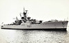 1960 to 1988 - ROTHESAY (F107) - Rothesay Class Type 12 Anti-Submarine Frigate - 2560 tons - 110.0 x 12.0 - 1960 Yarrow Shipbuilders, Scotstoun - 2x4.5in., 1x40mm, 2xLimbo ASM - 30 knots - 1961 North America/West Indies, 1966-68 refit (1x40mm removed, Sea Cat and Hangar fitted), 1969 Anguilla, 1973 Cod War, 1982 Caribbean during Falklands War, 1985 Dartmouth Training Sqdn., 1988 sold for breaking - seen here in 06/63.