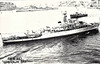 1945 to 1947 - WIGTOWN BAY (K616) - Bay Class Frigate - 1626 tons - 93.7 x 11.7 - 1945 Harland & Wolff, Belfast - 4x4in., 4x40mm, 4x20mm, 1xHedgehog - 19.5 knots - 02/46 5th Escort Flotilla, Mediterranean, 05/47 decommisioned, 10/58 sold for breaking.