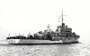 1943 to 1944 - MOYOLA (K260) - River Class Frigate - 1370 tons - 91.8 x 11.1 - 1943 Smith's Dock Co., South Bank - 2x4in., 10x20mm, 1 Hedgehog - 20 knots - 10/44 to France as TONKINOIS (K260), 1953 LA CONFIANCE, 09/61 sold for breaking.