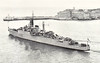 1944 to 1970 - ZEST (R02) - Z Class Destroyer - 1710 tons - 103.5 x 11.0 - 1944 Thornycroft & Co., Woolston - 4x4.7in., 5x40mm, 8TT - 36 knots - 08/44 2nd Destroyer Flotilla, Home Fleet, Russian Convoys, 08/45 4th Destroyer Flotilla, 07/47 to Reserve, 02/48 Torpedo Training Ship, Portland, 09/52 Nore Local Flotilla, 03/56 converted to Type 15 Anti-Submarine Frigate, 1958 3rd Training Sqdn., Londonderrry, then 4th Frigate Sqdn., 1961 24th Escort Sqdn., 07/68 decommisioned, 07/70 sold for breaking.