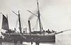 1881 to 1905 - BULLFROG - Banterer Class Gunboat - 465 tons - 38.1 x 7.2 - 1881 Pembroke Dock - 2x64pdr, 2x20pdr - 1905 hulked, 03/23 renamed EGMONT, 07/33 renamed ST ANGELO, 1933 sold.