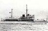1938 to 1942 - DRAGONFLY - Locust Class River Gunboat - 585 tons - 60.1 x 10.1 - 1938 Thornycroft & Co., Woolston - 2x4in, 1x3.7in. - 17 knots - 1939 Yangtse Flotilla, 12/41 Singapore, 14/02/42 damaged by air attacks off Rusuk Buaja Island, abandoned, later sank, 40 dead.