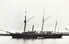 1877 to 1914 - FIREFLY - Forester Class Gunboat - 455 tons - 38.1 x 7.2 - 1977 J&G Thomson. Govan - 2x64pdr., 2x20pdr. - 1904 Boom Defence Vessel, 04/14 Base Ship, renamed EGMONT, 03/23 renamed FIREFLY I, 05/31 sold for breaking.