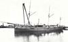 1889 to 1915 -THRUSH - Redbreast Class First Class Gunboat - 805 tons - 50.0 x 9.4 - 1889 Scotts Shipbuilders, Greenock - 6x4in. - 13 knots - 1891 North America and West Indies, 1896 Anglo-Zanzibar War, 10/1899 Second Boer War, 1906 Coast Guard, 1915 cableship, 1916 salvage ship. 11/04/17 wrecked off Glenarm, Northern Ireland.