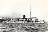 1934 to 1941 - ROBIN - Robin Class River Gunboat - 236 tons - 45.7 x  8.2 - 1934 Yarrow Shipbuilders, Scotstoun, No.1637 - 1x3.7in - 13 knots - 07/34 completed. 08/34 disassembled for shipment to Hong Kong, 1936 reassembled and commissioned to West River Flotilla, 1940 Boom Defence Depot Ship, Hong Kong, 12/41 evacuation of British personnel from China, 25/12/41 severely damaged by air attacks whilst repelling Japanese invasion of Hong Kong, scuttled.