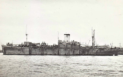 1943 to 1948 - EMPIRE RAPIER - Landing Ship Infantry - 7177GRT/9100DWT - 127.4 x 18.3 - 1943 Consolidated Shipbuilding Corpn., Wilmington, CA, No.351 (Type C1-S-AY1) - 1x4in., 1x3in, 12x20mm - 14 knots - 1948 returned to USMC, renamed CAPE TURNER, 05/66 broken up at Kearny.