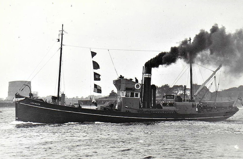 1918 to 1947 - LEEWARD - Admiralty Steel Drifter - 97 tons - 28.5 x 5.6 - 1918 John Lewis & Co., Aberdeen - 1x6pdr - 1947 sold commercial as BETTY DUTHIE - fate not known - seen here in 09/33.
