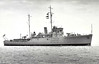 1935 to 1944 - HUSSAR (J82) - Halcyon Class Minesweeper - 815 tons - 70.1 x 10.2 - 1935 Thornycroft & Co., Woolston - 2x4in - 17 knots - 09/39 5th Minesweeping Flotilla, Dover, 01/40 4th Minesweeping Flotilla, Humber, 04/40 6th Minesweeping Flotilla, Dover, 15/05/40 hit by a/c bomb off Dutch coast, 3 dead, under repair until 07/40, 10/07/40 bomb damage, under repair until 11/40, resumed flotilla duties, 04/41 flotilla to Western Approaches, 09/41 Russian Convoys, the North Russia, local duties, 11/42 Operation Torch, then Gibraltar with Flotilla, 10/43 flotilla to Home Waters, 12/43 North Russia, local duties, 03/44 1st Minesweeping Flotilla, Home Waters, 06/44 Operation Neptune, 27/08/44 attacked in error by RAF Typhoon a/c, sunk by direct hits - seen here in 11/36.
