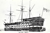 1824 to 1908 - ASIA - 84-Gun Second Rate Ship-of-the-Line - 2289 tons - 59.1 x 16.0 - 1824 HM Dockyard, Bombay - 1858 Guardship, 1908 sold for breaking