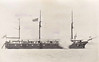 1856 to 1902 - TERROR - Floating Battery - 1844 tons - 56.7 x 15.4 - 1856 Palmer & Co., Jarrow - 16x68pdr - 1857 base ship at Bermuda, 1902 broken up in Bermuda.